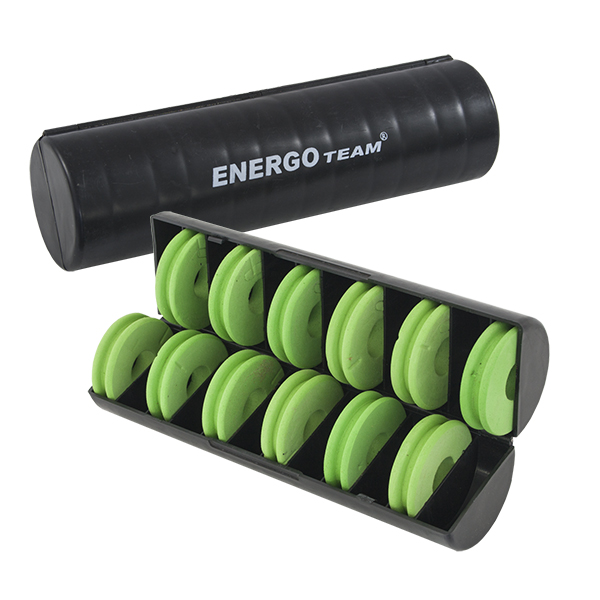Energoteam FEEDER RIG BOX WITH 10 SPOOLS 4,5CM