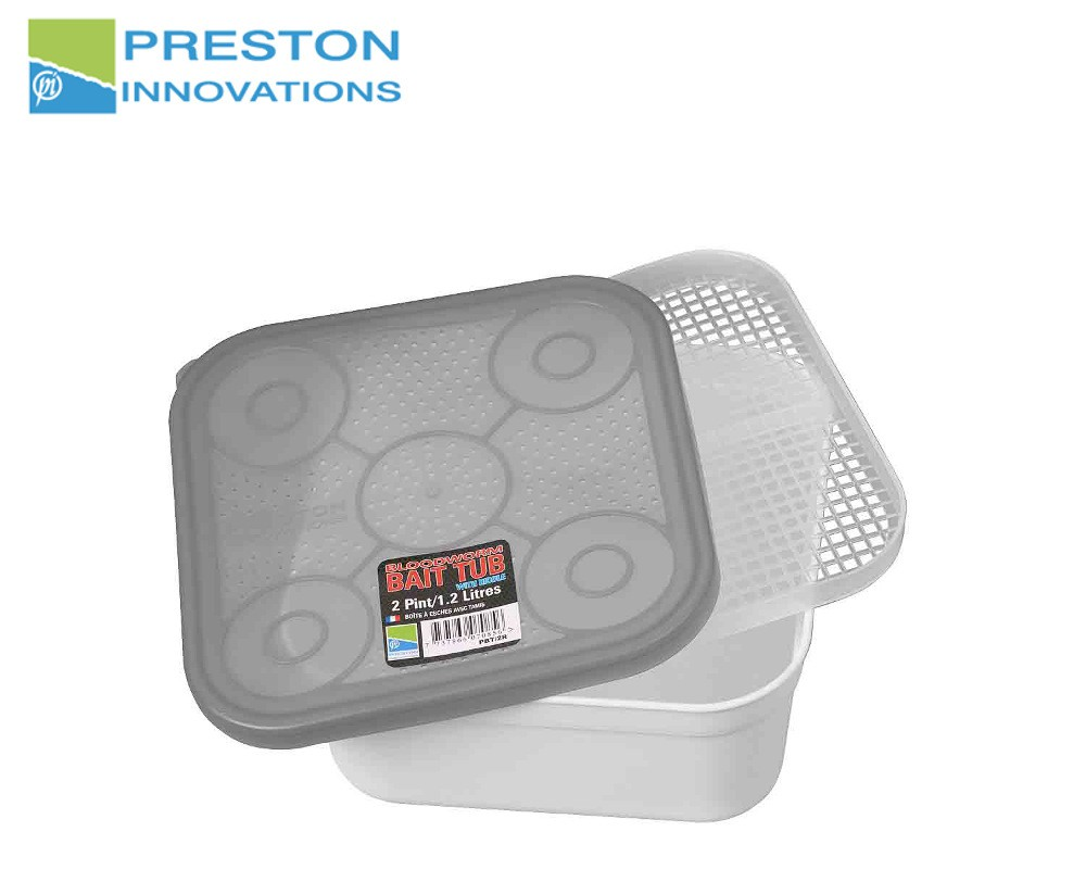 Preston innovations Bloodworm Bait Tub